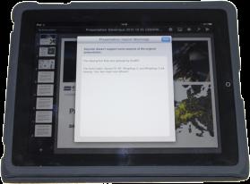 iPresent iPad presentation